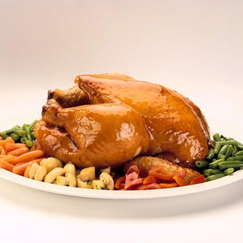 soñar con comer pollo cruda