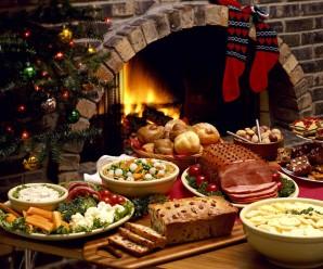 Soñar con cena de Navidad