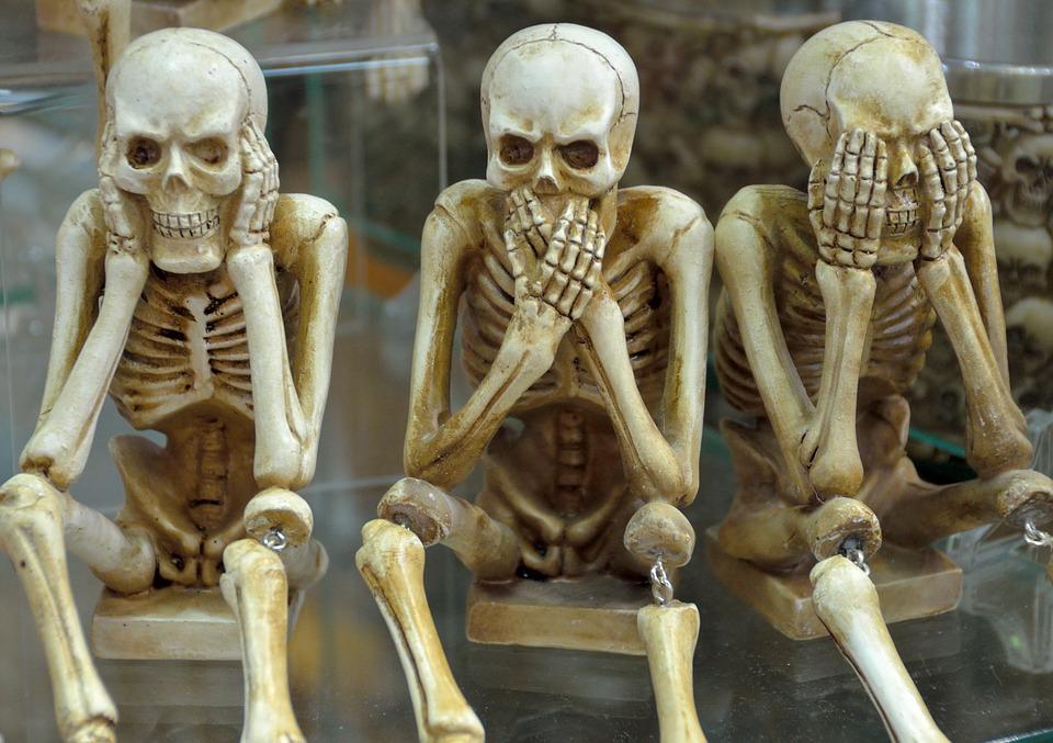 Soñar con Esqueletos