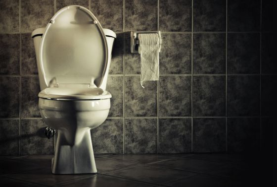 Soñar con baños sucios