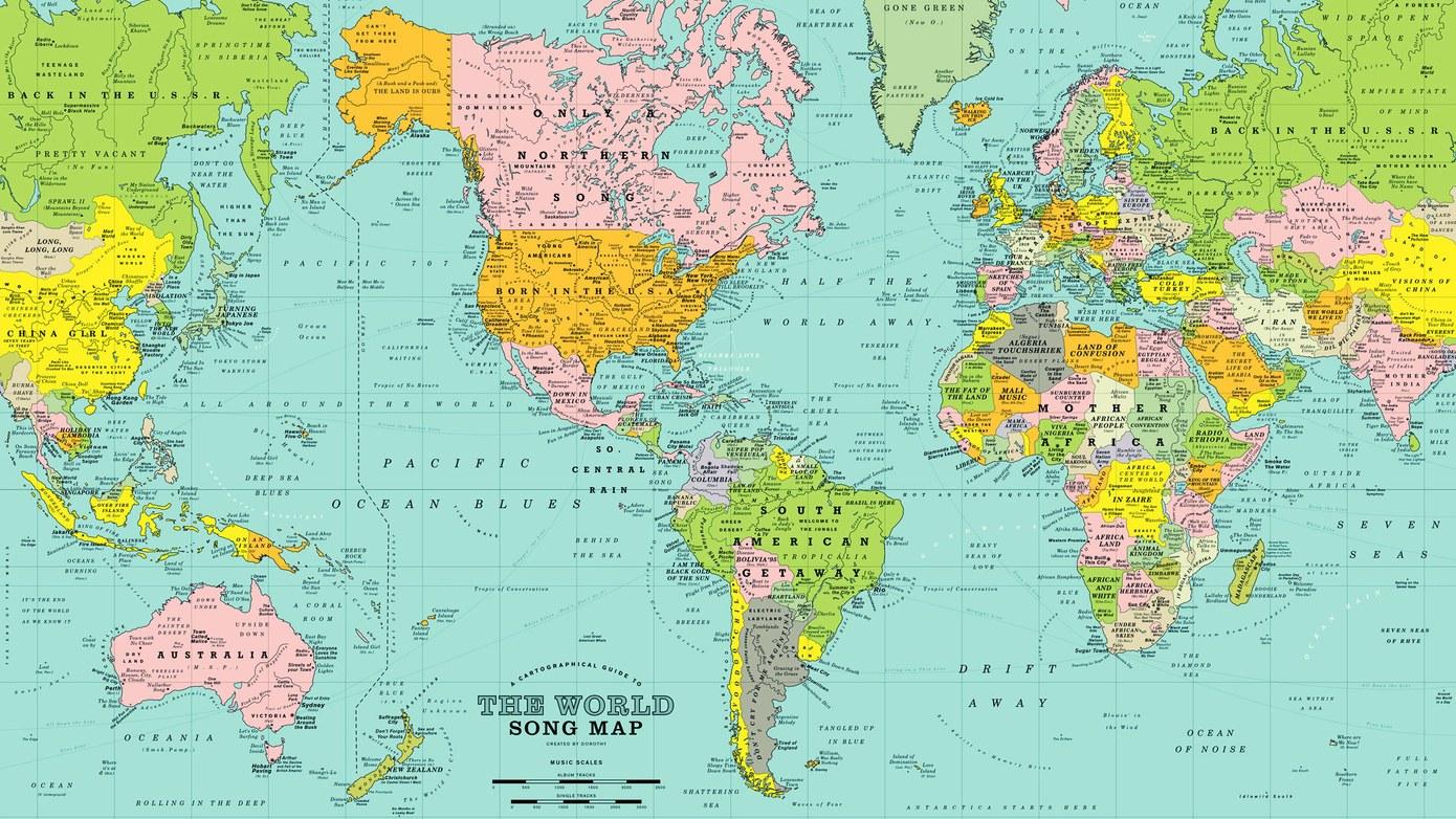 Soñar con mapas