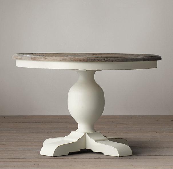 Soñar con mesas redondas