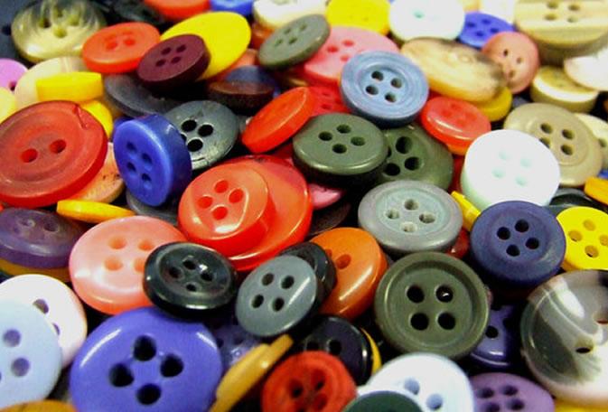 soñar con botones
