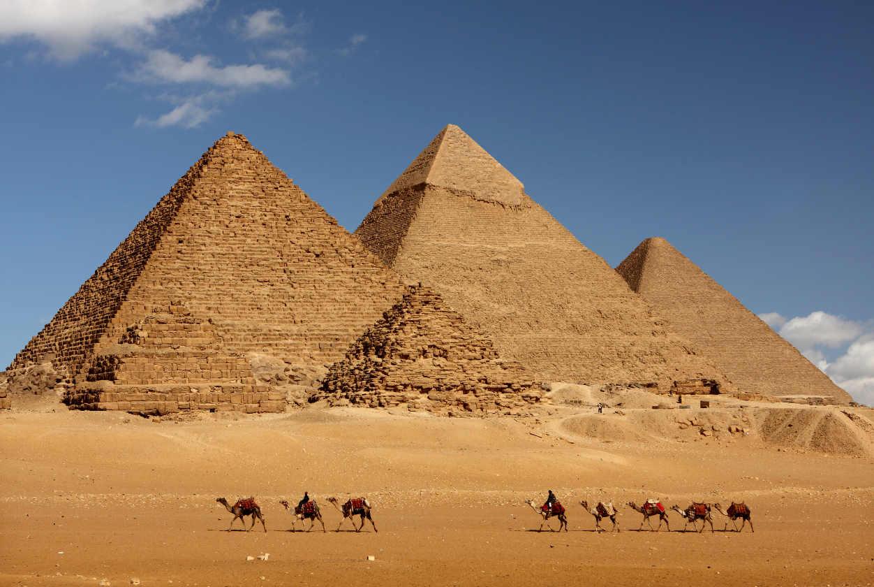 Significado de soñar con pirámides