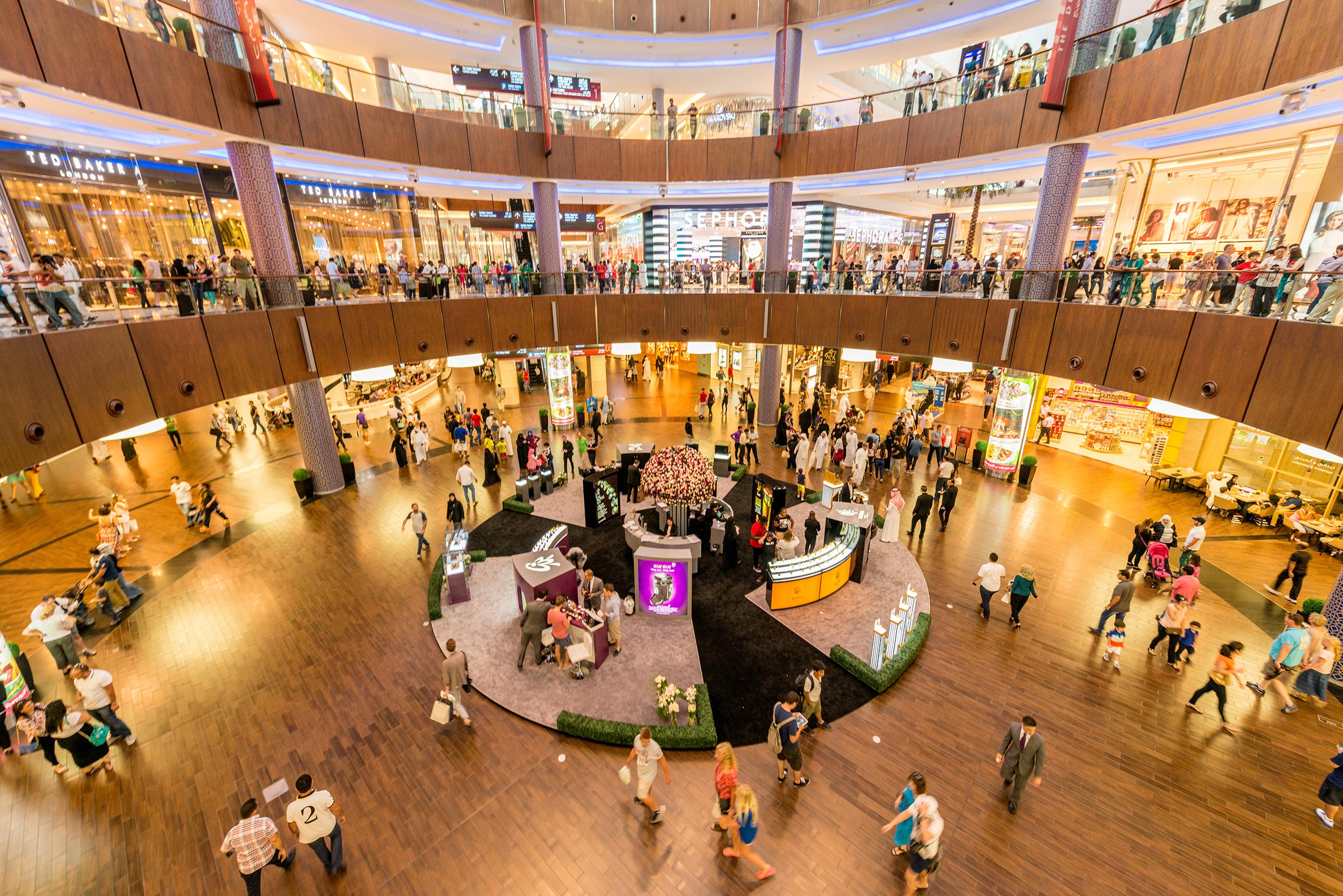 Soñar con un centro comercial